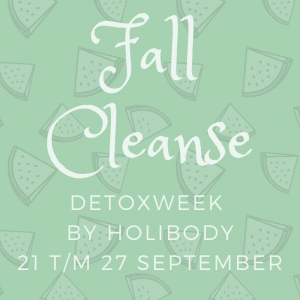 Fall Cleanse detoxweek by HoliBody